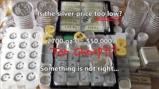 Is the Silver Price too low - Why won't it go up!?