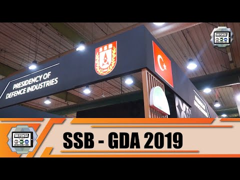 GDA 2019 Web TV Day 1 SSB Turkish defense industry Turkey Gulf defense exhibition in Kuwait