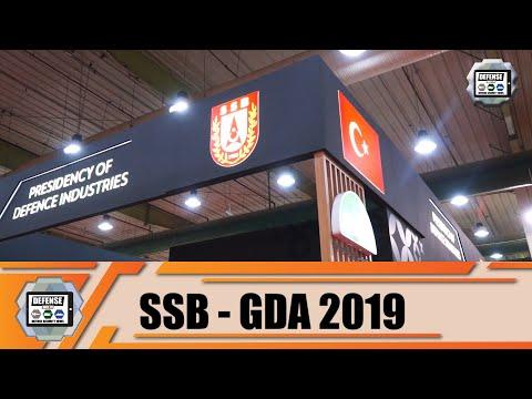 GDA 2019 Web TV Day 1 SSB Turkish defense industry Turkey Gulf defense exhibition in Kuwait