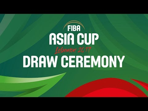 FIBA Asia Cup 2017 - Draw Ceremony - Re-Live