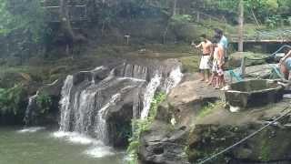 18ft ang lalim!!! Balite Falls Amadeo Cavite