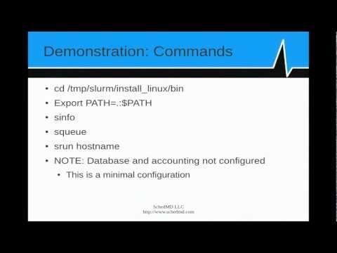 Introduction to SLURM, Part 7