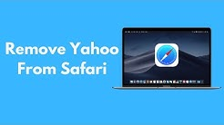 How to Remove Yahoo Search from Safari