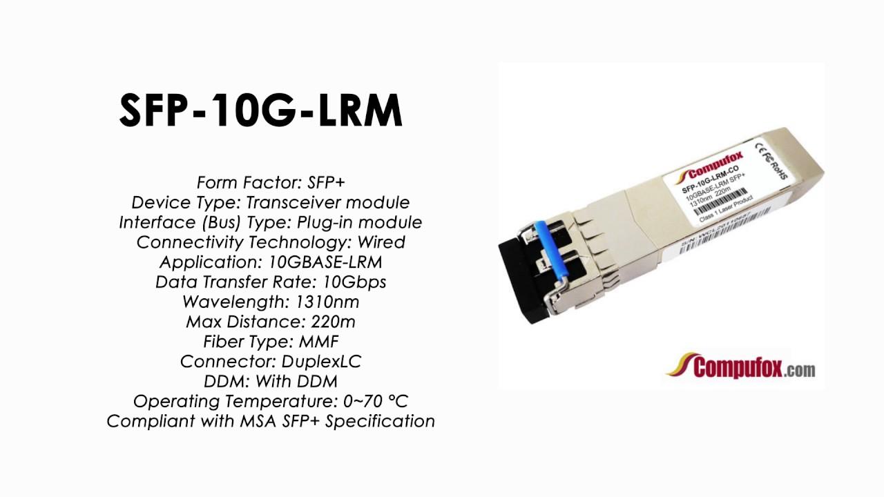 NCS-5001 Compatible SFP-10G-SR for Cisco NCS 5000 Series