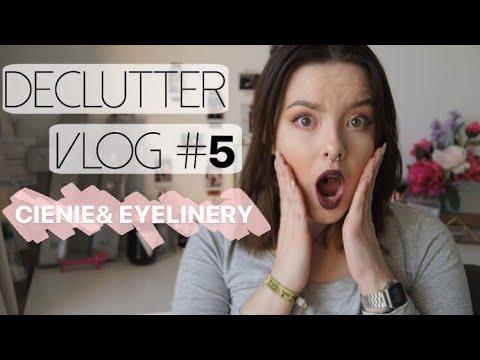 DECLUTTER VLOG: CIENIE&EYELINERY!   CLAU