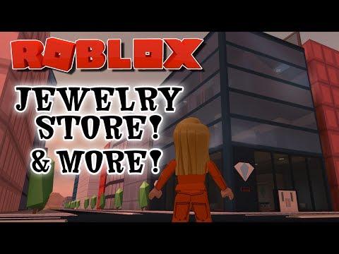 ROBLOX JAILBREAK JEWELRY STORE UPDATE & MINIGAMES! [LIVE] #RoadTo13K