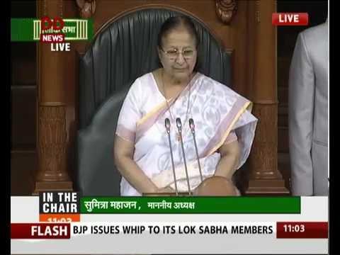 Lok Sabha remembers victims of Hiroshima and Nagasaki bomb attack