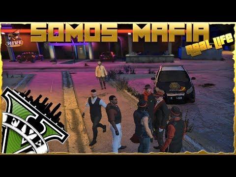 GTA V  ReaL Life Role Play | SOMOS MAFIA 🔫(Dia 3 REDADA POLICIAL MUEREN TODOS)🚓