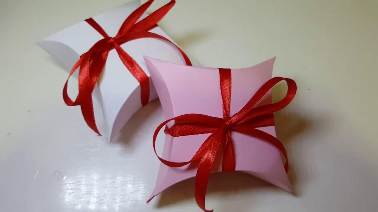 Ben noto DIY Natale - Tutorial scatoline regalo fai da te - little box  SG96