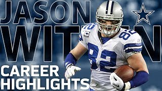 Jason Witten's Legendary Highlights: The Greatest TE in Cowboys History | NFL Legends Highlights