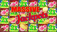 MASSIVE JACKPOT ON $30 BET! BONUS RETRIGGERS HIGH LIMIT SLOT MACHINE