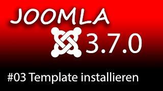 Homepage erstellen mit Joomla 3.7 - Ein Template installieren [1080p HD]