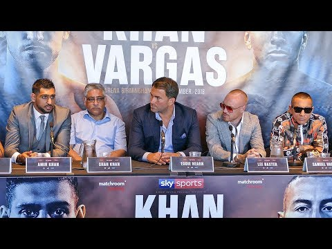 Amir Khan vs. Samuel Vargas PRESS CONFERENCE | Matchroom Boxing