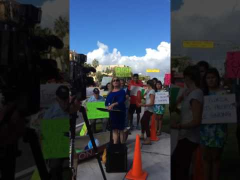 09.14.16  Environmental Groups Ask Senator Marco Rubio Take Action on Climate Change 2