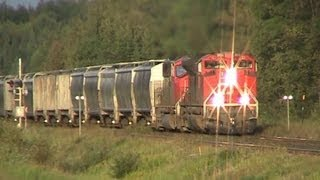 CN Train Spotting: CN SD70M-2 #8802 Performs Perfect K5LLA Shave & A Haircut!!! 15/19 8/30/12