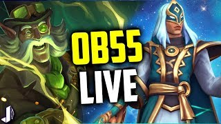 Jenos Gameplay - Steam Torvald & More - Paladins OB55 PTS Live