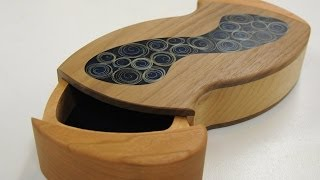 Spiral Inlay And Curved Drawers