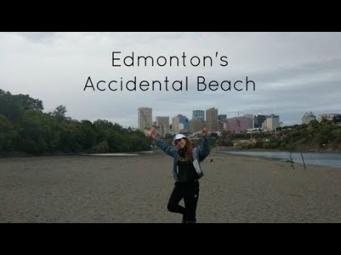 Edmonton's Accidental Beach !!! | September 2, 2017