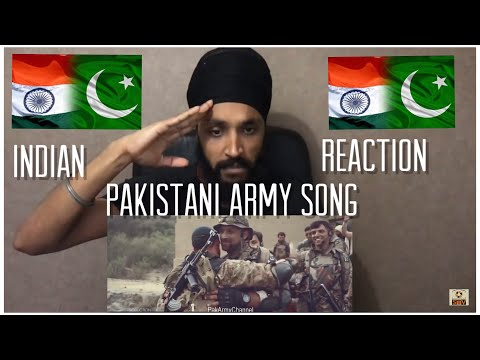 Main Pakistan Hoon | Pakistani Army Song Reaction