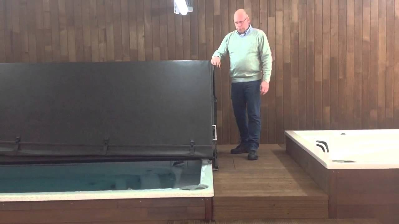 Swimspa Schwimmspa Lifterabdeckung Vom Whirlpoolcenter