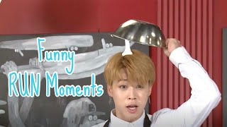 Funny BTS RUN Moments