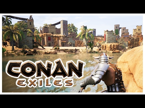 CONAN EXILES - EPIC OASIS CITY!