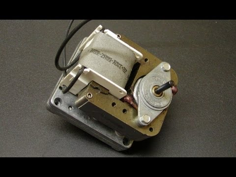 Shaded Pole Induction Motor - How To Reverse