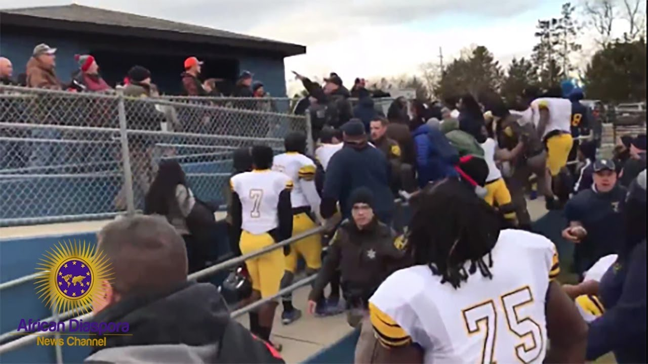 Almont Fans Hurled Slurs At Black Detroit Denby Footall Players After Game