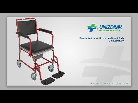 Toaletný vozík na kolieskách UNIZDRAV - VIDEOMANUÁL