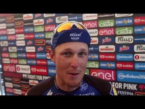 Giro d'Italia 2016: 18- Muggi� - Pinerolo - Matteo Trentin & Steven Kruijswijk