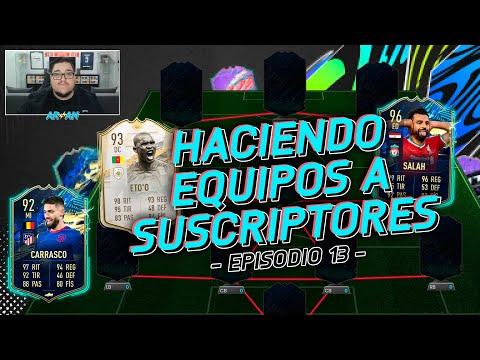 HACIENDO EQUIPOS A SUSCRIPTORES! #13 FIFA 21 ULTIMATE TEAM