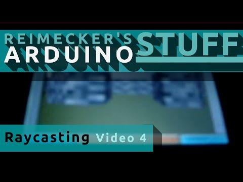Arduino Raycasting Engine Versuch 4 - mit Texturen