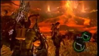 Resident Evil 5 (Final Boss (Wesker) / Last Part) -XBOX 360-