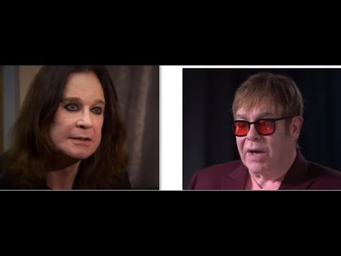 Ozzy Osbourne and Elton John are collaborating on a new song says Sharon..