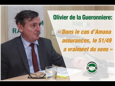 Olivier de la Gueronniere : « Dans le cas d'Amana assurances, le 51/49 a vraiment du sens »