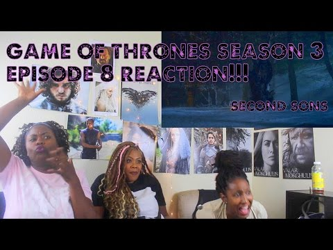 Game of thrones Season 3 Episode 8 REACTION!!! Second Sons