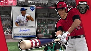 Bases Loaded Bottom Of The 9th! Ryne Sandberg Debut! MLB The Show 19