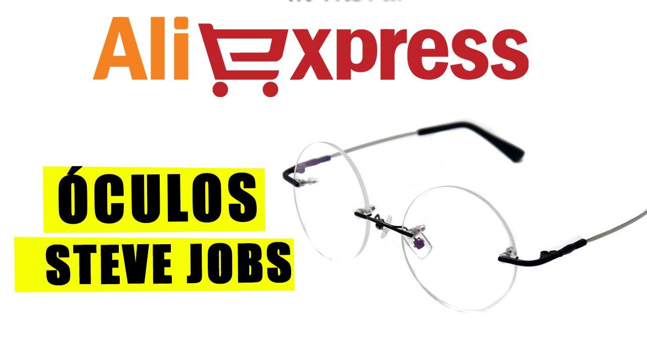 d434143774bad Óculos do Steve Jobs - Unboxing (aliexpress) - YouTube
