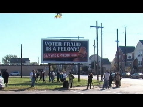 Protection From Voter Fraud Or Voter Intimidation