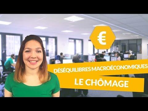 Principaux déséquilibres macroéconomiques : le chômage - Economie - Première ES - digiSchool
