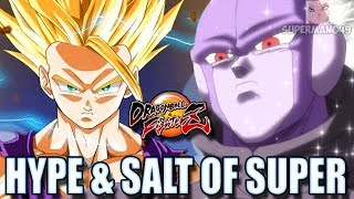 100% GOHAN COMBO & THE BEST HIT PUNISH OF ALL TIME! - Dragon Ball FighterZ Hype & Salt Of Super #1
