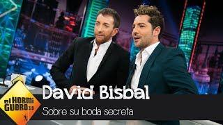 David Bisbal habla de su boda secreta y el hijo que espera con Rosanna Zanetti - El Hormiguero 3.0