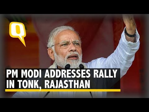 Live: PM Modi Addresses a Rally in Tonk, Rajasthan