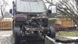 Uaz with ford V6 cologne engine 2.8l