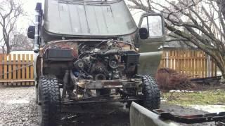 Uaz with ford V6 cologne engine 2.8l