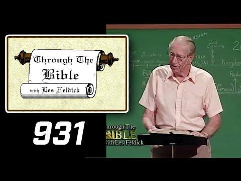[ 931 ] Les Feldick [ Book 78 - Lesson 2 - Part 3 ] Pt 1: Messianic Prophecies: Psalm 2, 8, 16 |c