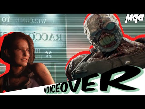 Resident Evil 3 Remake nemesis re3 funny gameplay voiceover