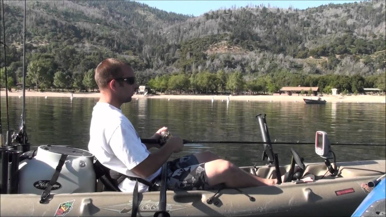Bass fishing and kayaking at silverwood lake california for Silverwood lake fishing report