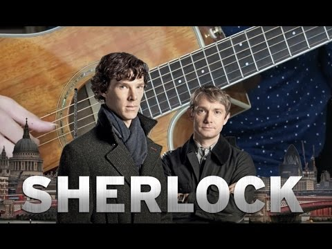Sherlock Opening Theme - Acoustic Guitar Cover