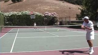 Tennis Passing Shot Strategy